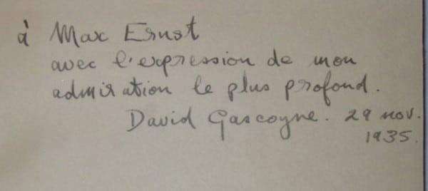 Gascoyne Max Ernst