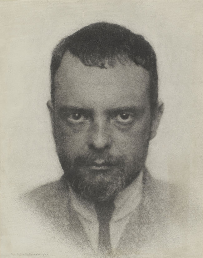 Paul Klee par Hugo Erfurth en 1922. © Centre Pompidou, musée national d'art moderne / Adagp