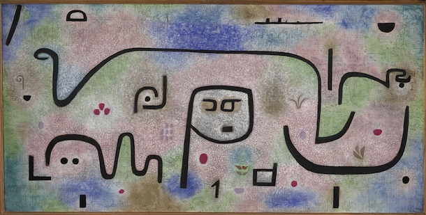 Paul Klee, Insula dulcamara. 1938. © Zentrum Paul Klee, Berne.