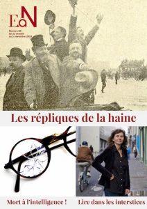 Numéro 89 En attendant Nadeau Gérard Noirel Zemmour Drumont Les répliques de la haine