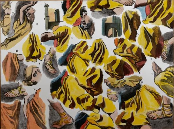 Connivence d'Henri Cueco (1929-2017), Centre d'Art Contemporain de la Matmut, Saint-Pierre-de-Varengeville