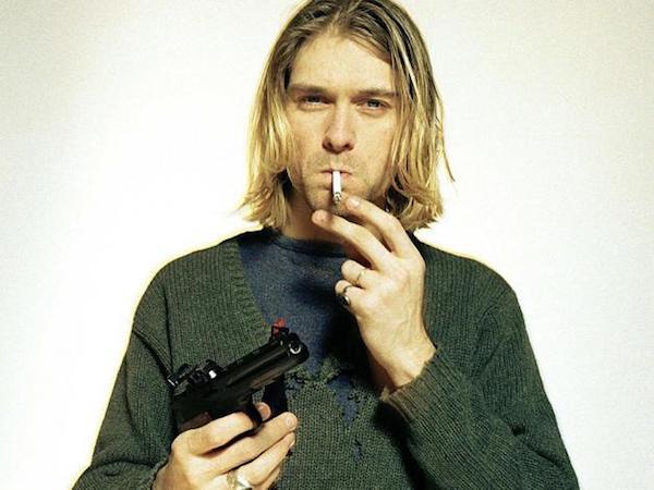 Kurt Cobain Michel Laub