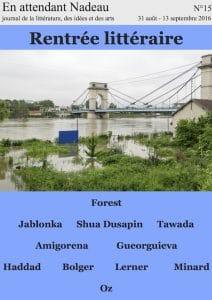 numero 15 forest tawada shua dusapin