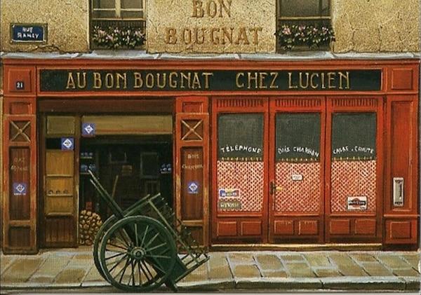 Yonnet troquets de Paris