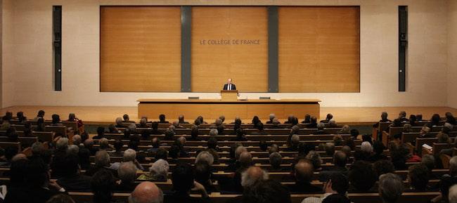 © Patrick Imbert/Collège de France