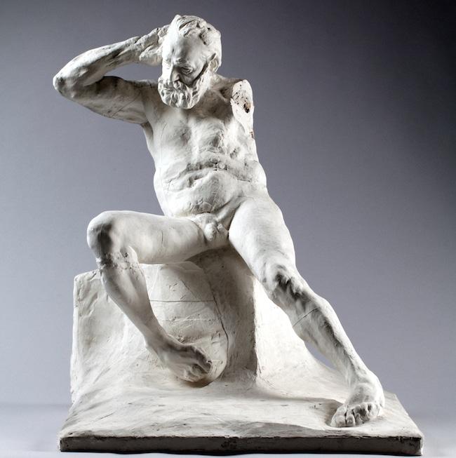 Victor Hugo, assis, nu, etude pour le Monument, par Auguste Rodin. © Musée Rodin/Jérôme Manoukian