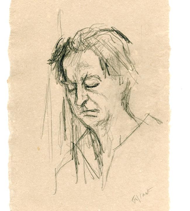 André du Bouchet © Pierre Tal-Coat