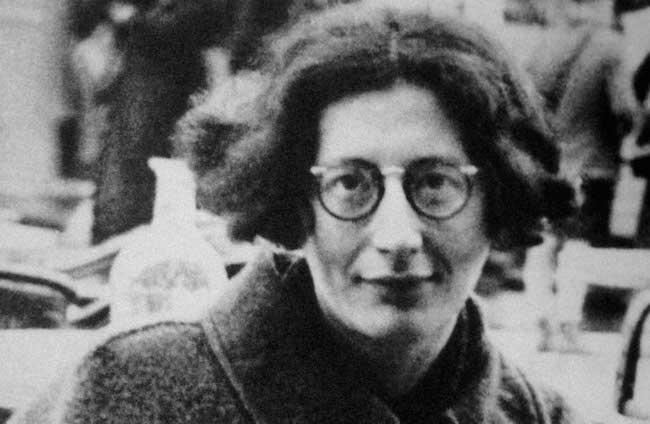Simone Weil en 1936.
