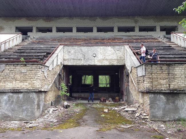 Voyage touristique à Pripyat. © Jeff Miccolis/CC
