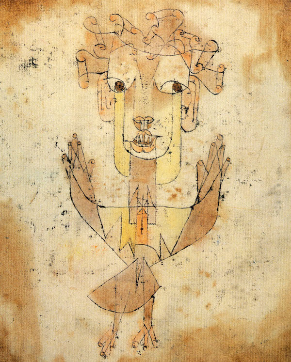 L'Angelus Novus de Paul Klee