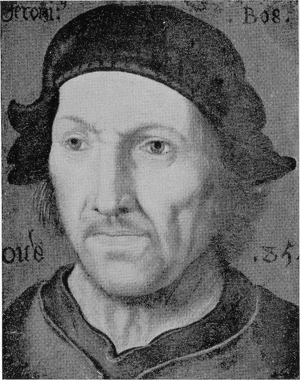 Portrait de Jérôme Bosch (Anonyme)
