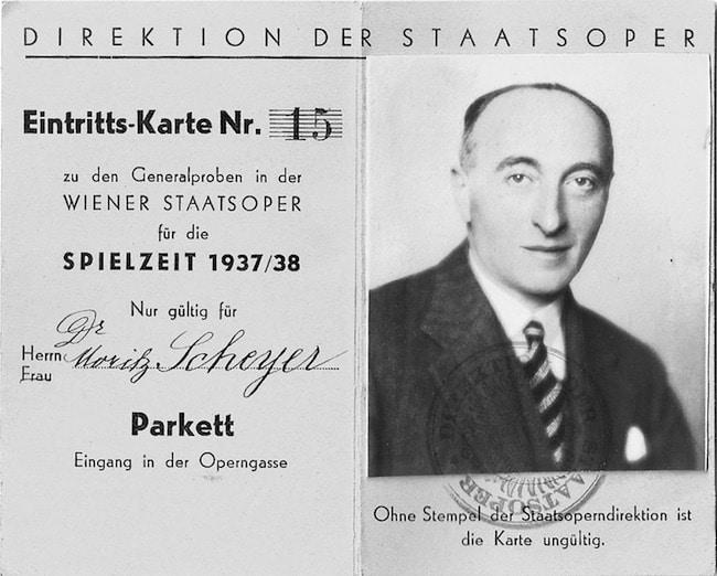 Moriz Scheyer en 1937