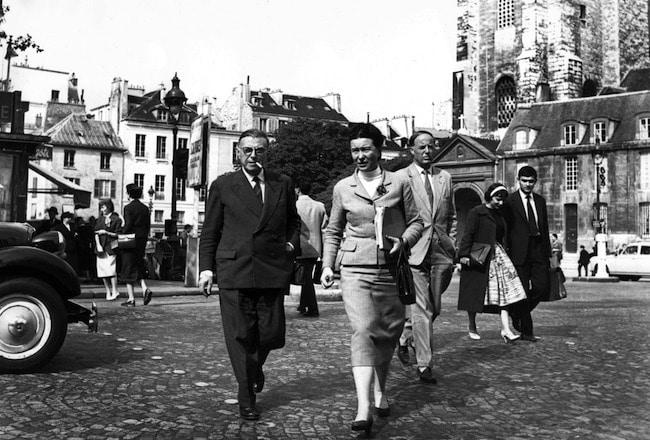 Paris des philosophes Jean Paul Sartre