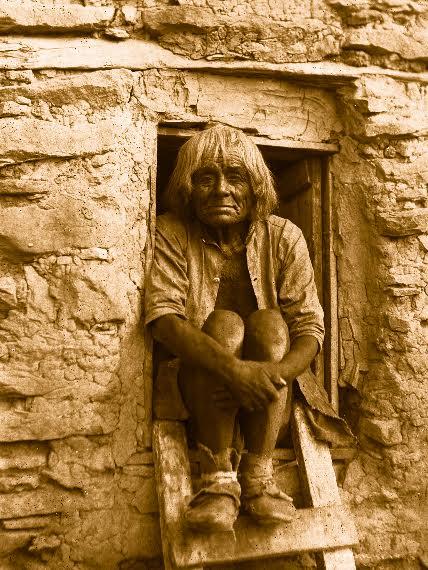 Portrait d'un vieil homme, James George Wharton, 1898© University of Southern California