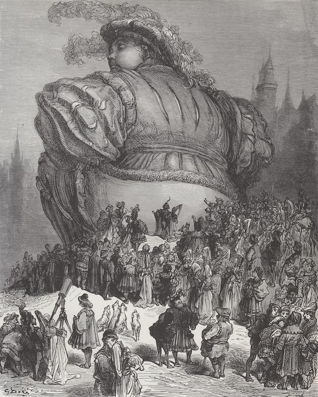 Rabelais, Les Cinq livres des faits et dits de Gargantua et de Pantagruel