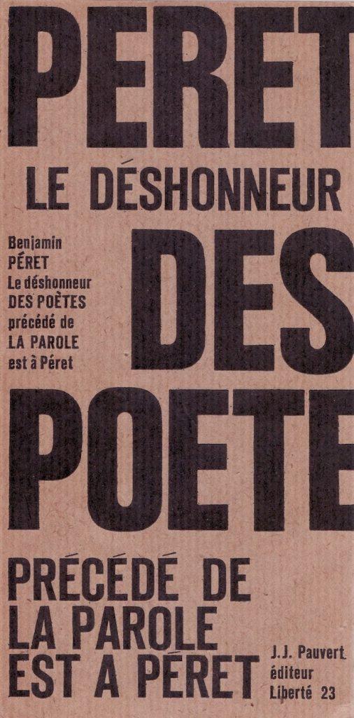 Barthélémy Schwartz, Benjamin Péret, l'astre noir du surréalisme, Libertalia