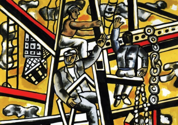 Les constructeurs, de Fernand Léger (1950)