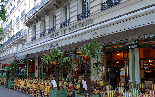 Ismaël Kadaré, Matinées au café Rostand, Fayard