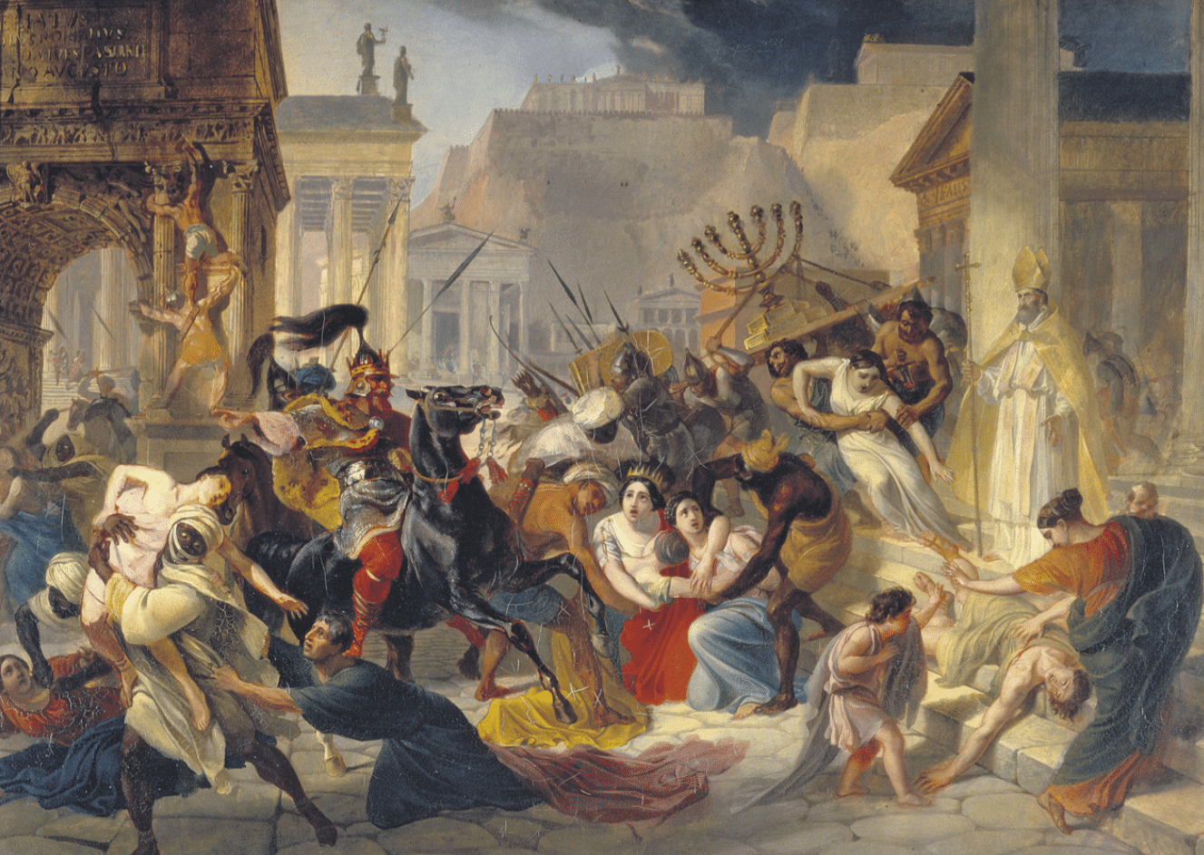 Bertrand Lançon, La chute de l'Empire romain. Une histoire sans fin