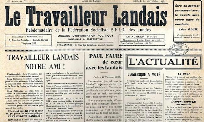 Pierre Roumégous, Leutres à l'Henri. Chroniques politiques gasconnes du Travailleur landais