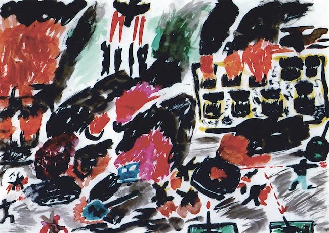 Déflagrations : Dessins d'enfants, guerres d'adultes