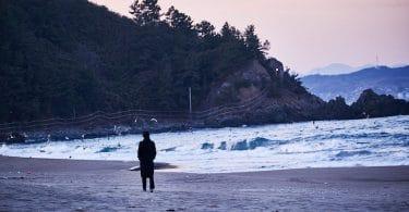 Hong Sang Soo, Seule sur la plage, la nuit