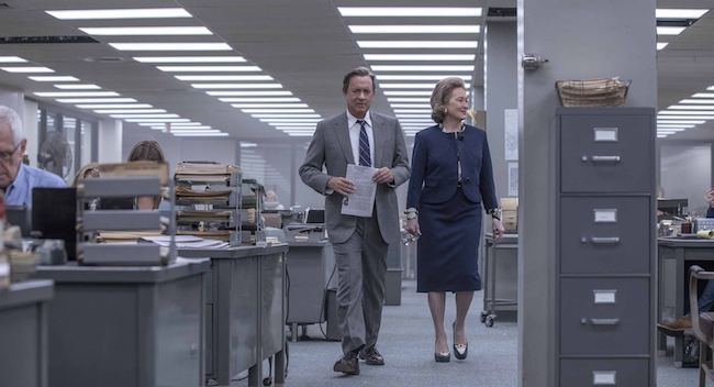 Emmanuel Finkiel, La douleur Steven Spielberg, Pentagon Papers