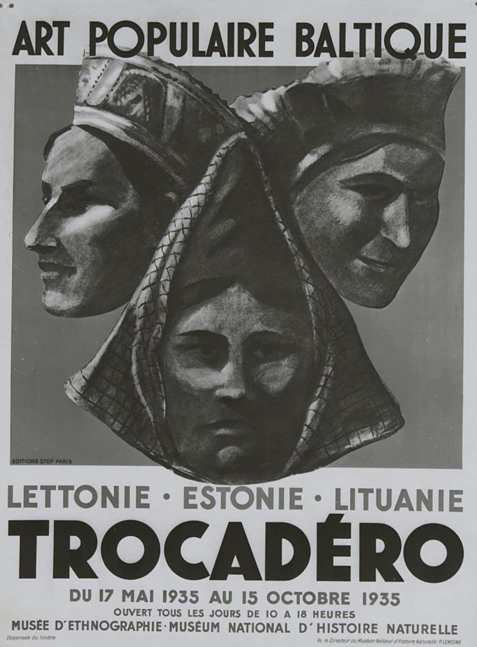 Les années folles de l'ethnographie. Trocadéro 28-37. Sous la direction d'André Delpuech