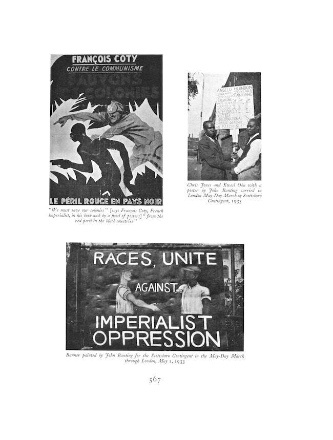 Negro Anthology. Édité par Nancy Cunard. Préface de Mamadou Diouf