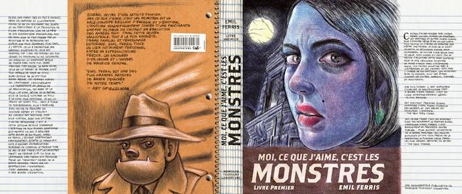 Emil Ferris, Moi, ce que j'aime, c'est les monstres. Livre premier