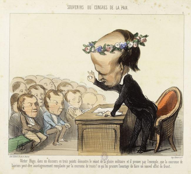 Caricatures à la une. Maison de Victor Hugo