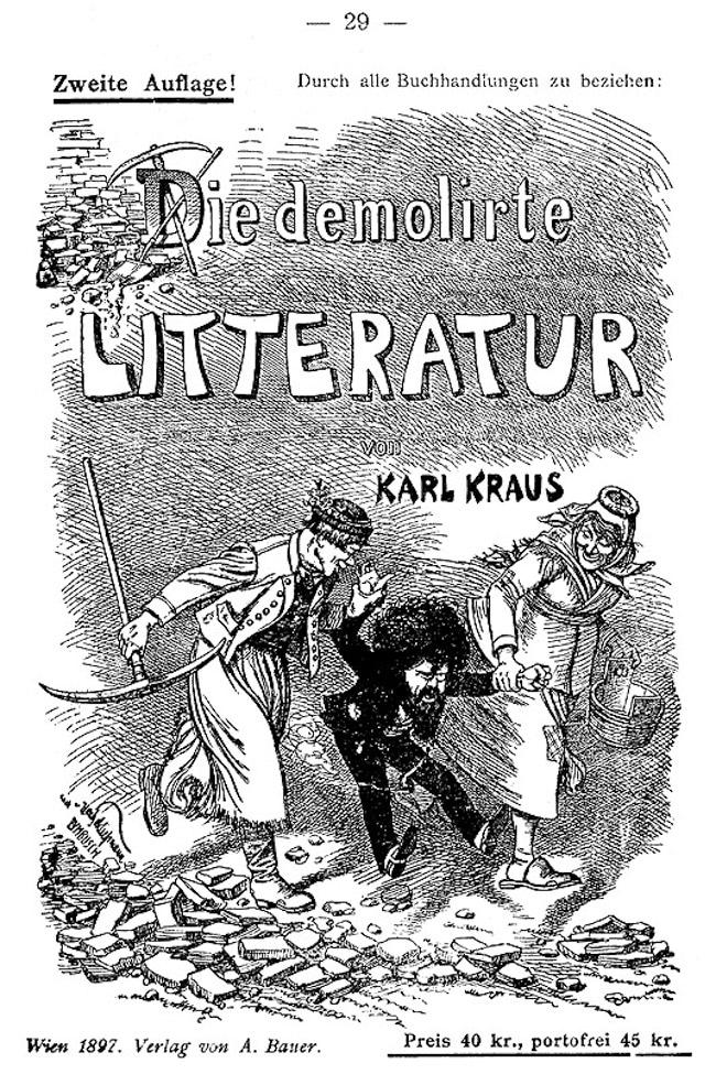 Jacques Le Rider, Karl Kraus. Phare et brûlot de la modernité viennoise