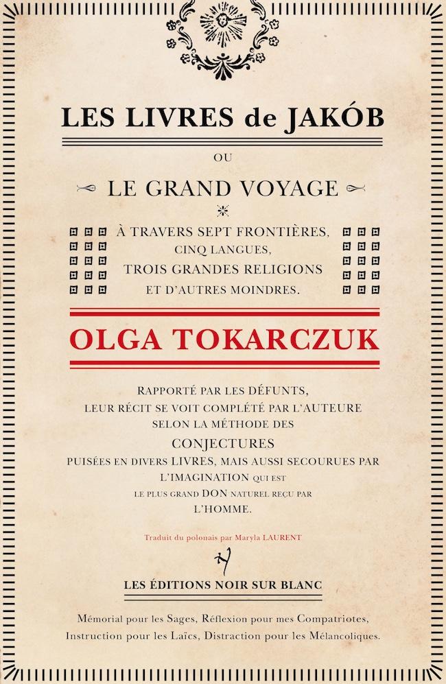Olga Tokarczuk, Les Livres de Jakób ou le Grand voyage
