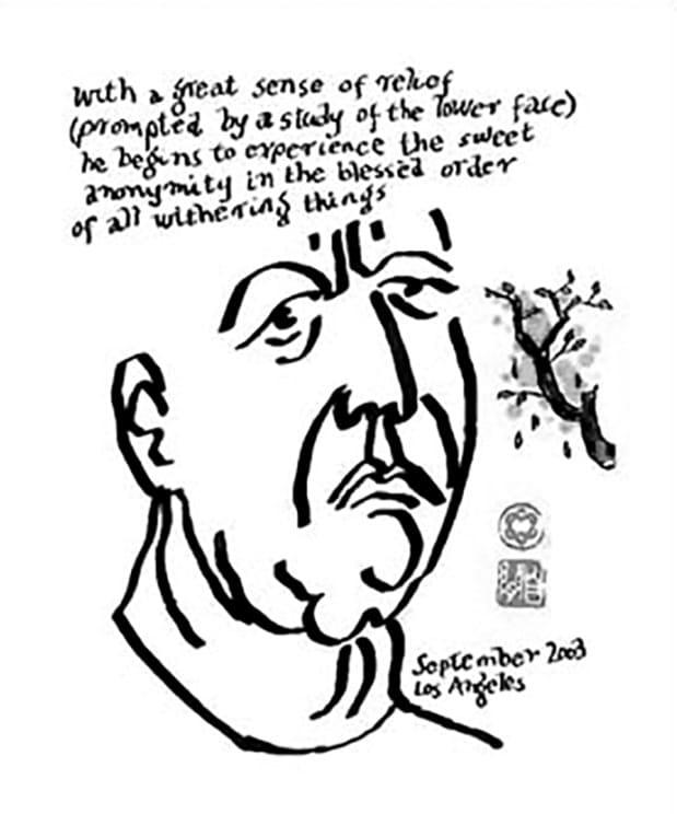 Leonard Cohen, La flamme. Poèmes, notes et dessins