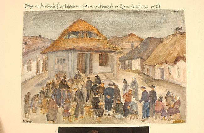 Arnold Daghani, La tombe est dans la cerisaie. Journal du camp de Mikhaïlovka (1942-1943).