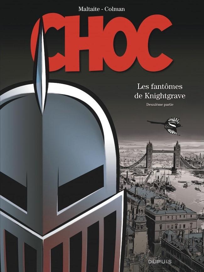 Stéphane Colman (scénario) et Éric Maltaite (dessin), Les fantômes de Knightgrave