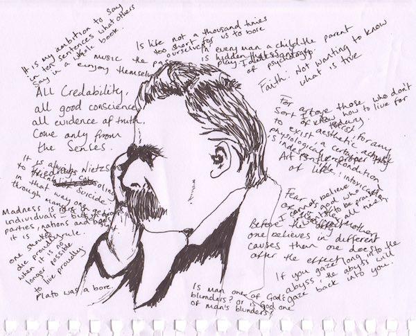 Nietzsche Correspondance Œuvres complètes En attendant Nadeau