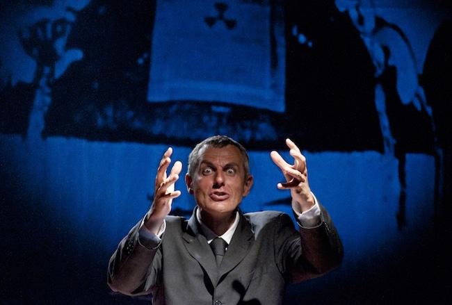 Olivier Neveux, Contre le théâtre politique