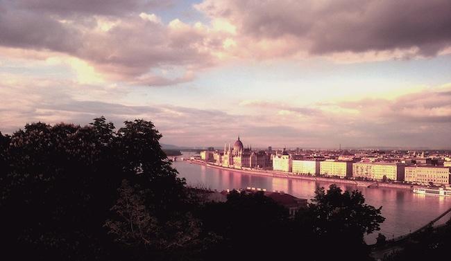Emmanuel Ruben, Sur la route du Danube