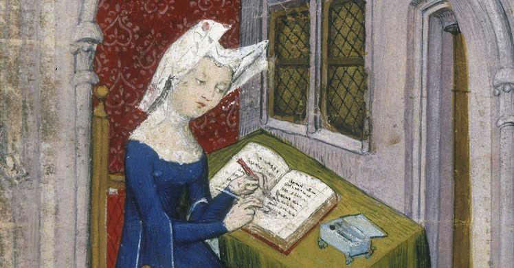 Les Cent Ballades Damant Et De Dame De Christine De Pizan
