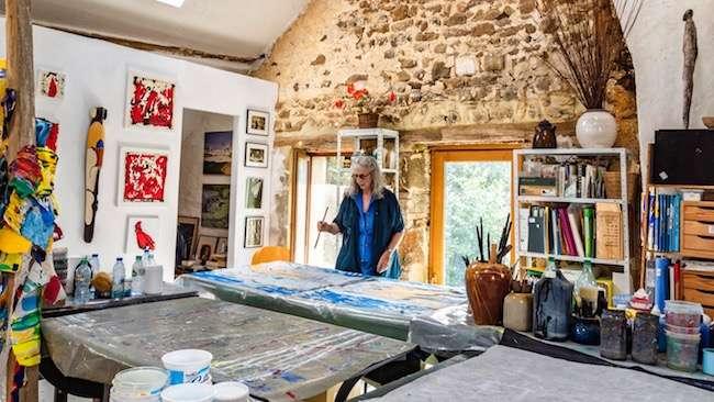 D'atelier en atelier : chez Judith Wolfe