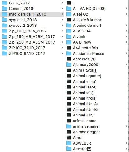 Derrida et l'ordinateur : une archive malgré soi