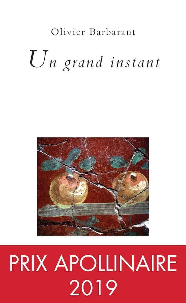 Esquif Poésie (2) Un grand instant, d'Olivier Barbarant