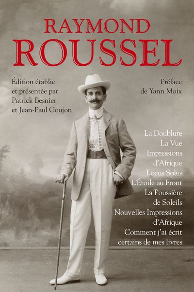 Raymond Roussel Romans Collection bouquins