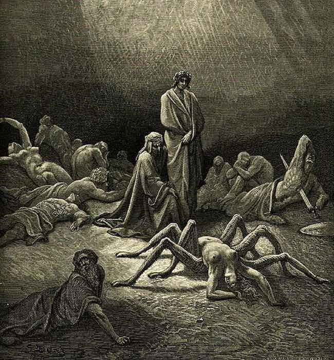 Dans la toile d'Arachné. Contes d'amour, de folie et de mort Araignée