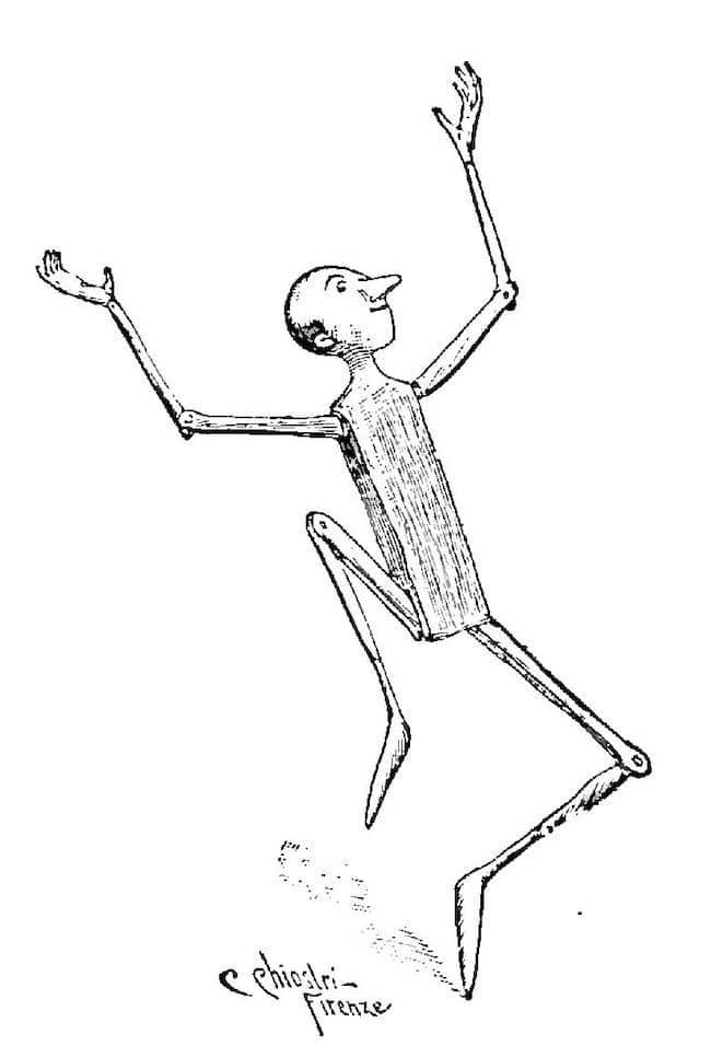 Décamérez ! Pinocchio le rêveur, ou ballet de nuit (j43)