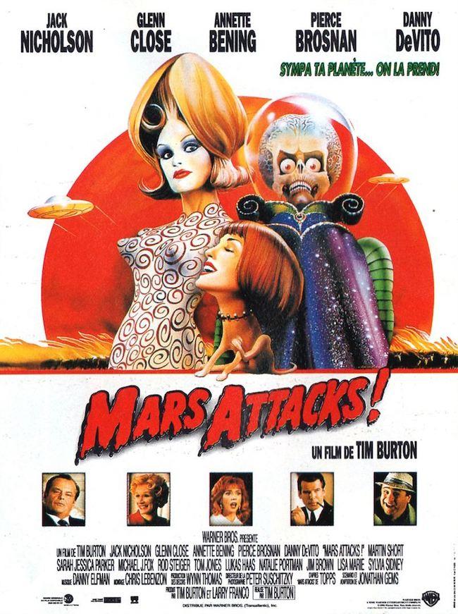 Mars attacks 2 : Tim Burton avait-il anticipé l'épidémie ?