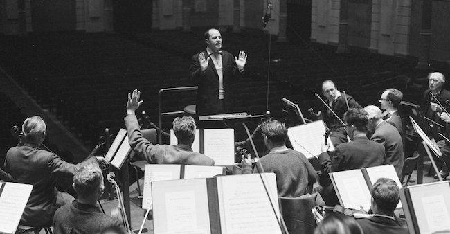 Pierre Boulez et Guennadi Rojdestvensky : deux musiciens