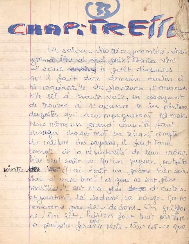 Céline Gahungu, Sony Labou Tansi. Naissance d'un écrivain