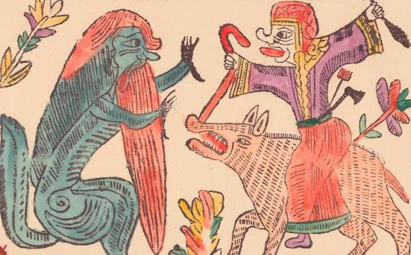 Monstres Alberto Manguel Folklore russe Anthologie des ogres